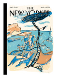 The New Yorker Cover - August 4, 2003 Regular Giclee Print by  Mariscal