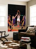 New York Knicks v Los Angeles Lakers, New York, NY, Feb 10: Iman Shumpert, Steve Blake Wall Mural