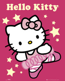 Hello Kitty-Ballerina Pósters