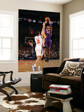 New York Knicks v Los Angeles Lakers, New York, NY, Feb 10: Kobe Bryant, Landry Fields Wall Mural by Nathaniel S. Butler