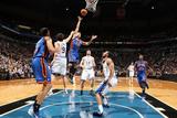 New York Knicks v Minneapolis Timberwolves, Minneapolis, MN, Feb 11: Jeremy Lin, Ricky Rubio Photographic Print by David Sherman