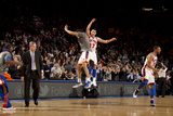 New York Knicks v Los Angeles Lakers, New York, NY, Feb 10: Landry Fields, Jeremy Lin Photographic Print by Nathaniel S. Butler