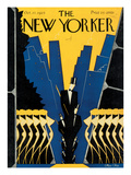 The New Yorker Cover - October 17, 1925 Regular Giclee Print by Max Ree