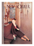 The New Yorker Cover - September 19, 1936 Regular Giclee Print by William Cotton