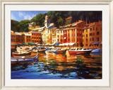 Portofino Colors Prints by Michael O'Toole