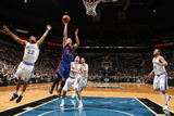 New York Knicks v Minneapolis Timberwolves, Minneapolis, MN, Feb 11: Jeremy Lin, Wayne Ellington Photographic Print by David Sherman