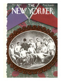 The New Yorker Cover - November 23, 1935 Regular Giclee Print by Antonio Petruccelli