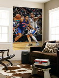 New York Knicks v Minneapolis Timberwolves, Minneapolis, MN, Feb 11: Landry Fields, Michael Beasley Wall Mural by David Sherman