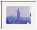 New York City In Winter VII In Colour Framed Photographic Print