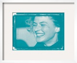 Ingrid Bergman In Colour Framed Photographic Print