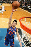 New York Knicks v Minneapolis Timberwolves, Minneapolis, MN, Feb 11: Jeremy Lin Impresso fotogrfica por David Sherman