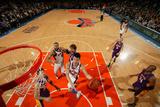 New York Knicks v Los Angeles Lakers, New York, NY, Feb 10: Jeremy Lin Photographic Print by Nathaniel S. Butler