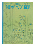 The New Yorker Cover - May 14, 1966 Reproduction procédé giclée Premium par David Preston