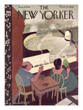 The New Yorker Cover - August 8, 1936 Giclee Print by Arnold Hall