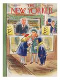 Leonard Dove - The New Yorker Cover - December 13, 1952 - Regular Giclee Print