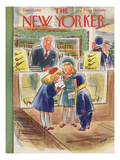 The New Yorker Cover - December 13, 1952 Giclee Print by Leonard Dove