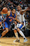 New York Knicks v Minneapolis Timberwolves, Minneapolis, MN, Feb 11: Landry Fields, Michael Beasley Photographic Print by David Sherman
