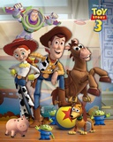 Toy Story 3-Gang Póster
