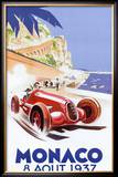 Monaco, 1937 Prints by Geo Ham