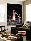 New York Knicks v Los Angeles Lakers, New York, NY, Feb 10: Jeremy Lin, Steve Blake Wall Mural