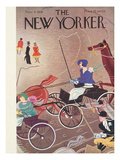 The New Yorker Cover - November 8, 1930 Premium Giclee Print by Sue Williams