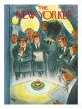 The New Yorker Cover - January 29, 1955 Regular Giclee Print by Leonard Dove