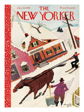 The New Yorker Cover - January 14, 1939 Regular Giclee Print af Arnold Hall