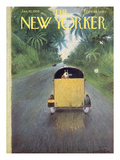 The New Yorker Cover - January 10, 1959 Reproduction procédé giclée par Garrett Price