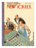The New Yorker Cover - March 21, 1931 Premium Giclee Print by Helen E. Hokinson
