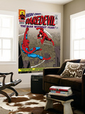 Daredevil No.16 Cover: Spider-Man and Daredevil Charging Kunst von John Romita Sr.