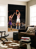 New York Knicks v Los Angeles Lakers, New York, NY, Feb 10: Steve Novak, Troy Murphy Reproduction murale g&#233;ante