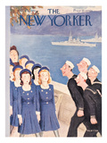 The New Yorker Cover - October 11, 1941 Giclee Print by William Cotton
