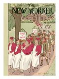 The New Yorker Cover - June 9, 1934 Regular Giclee Print by Helen E. Hokinson