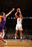 New York Knicks v Los Angeles Lakers, New York, NY, Feb 10: Landry Fields, Pau Gasol Photographic Print