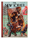The New Yorker Cover - June 10, 1939 Regular Giclee Print by Virginia Snedeker