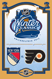 2012 NHL Winter Classic - Logo Poster