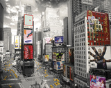New York-Times Square 2 Print