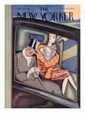 The New Yorker Cover - December 18, 1926 Giclée-tryk af Ottmar Gaul
