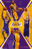 Lakers - Team 2011 Posters