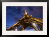 Under the Eiffel Framed Photographic Print by Trey Ratcliff