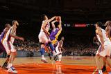 New York Knicks v Los Angeles Lakers, New York, NY, Feb 10: Jeremy Lin, Steve Blake Photographic Print by Nathaniel S. Butler