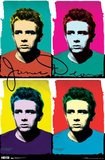 James Dean - Colors Prints