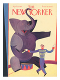 The New Yorker Cover - April 23, 1927 Regular Giclee Print by Andre De Schaub