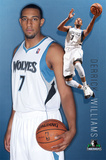 Timberwolves - D Williams 2011 Prints