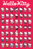 Hello Kitty-Compilation Prints