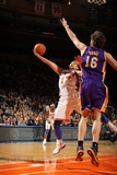 New York Knicks v Los Angeles Lakers, New York, NY, Feb 10: Jeremy Lin, Pau Gasol Photographic Print