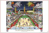 London 2012 Olympics - The Spirit of the US Olympic Team Print