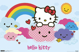 Hello Kitty - Clouds Posters