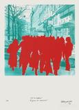 Boulevard Des ItaIIens : La Jeunesse En Mouvement Limited Edition by Gérard Fromanger