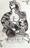 Carnet de Californie 02 Collectable Print by Pablo Picasso